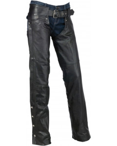 z1r chaps sabot pants leather - motorcycle