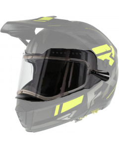 fxr racing helmet accessories maverick modular electric shield electric shield - snowmobile