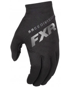 fxr racing gloves  black ops lites - snowmobile