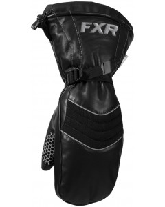 fxr racing gloves leather mitts - snowmobile