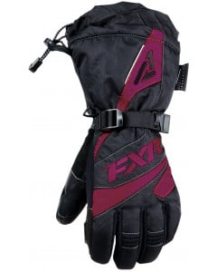 fxr racing gloves  fusion gloves - snowmobile