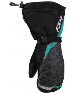 fxr racing gloves  fusion mitts - snowmobile