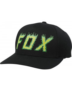 fox racing hats  moth in flames flexfit hats - casual