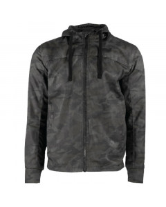 speed and strength jackets  go for broke armoured hoody textile - motorcycle