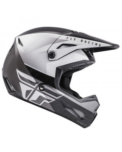 fly racing helmets adult kinetic straight edge helmets - dirt bike