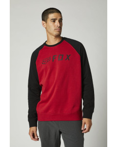 fox racing shirts  apex crew fleece long sleeve - casual