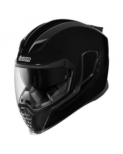 icon helmets adult airflite solid gloss full face - motorcycle