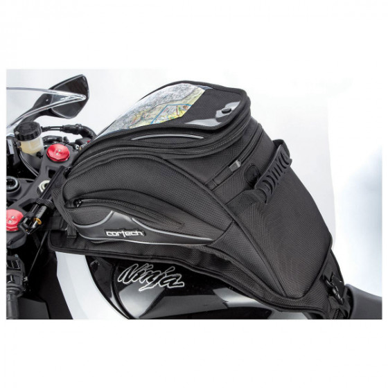 cortech 18l sloped 2.0 super luggages tank bags - motorcycle