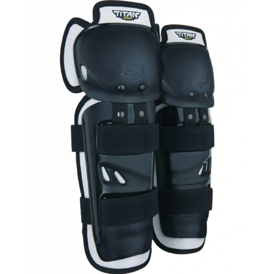 fox racing sport titan  knee & shin guards - dirt bike