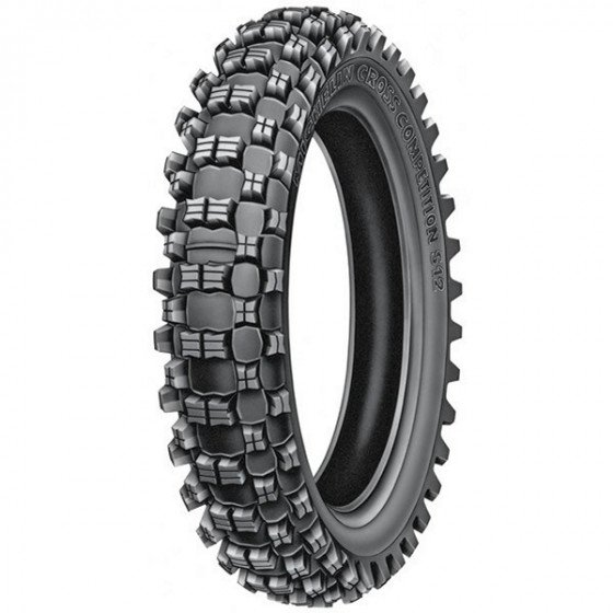 michelin rear soft/intermediate xc s12 tires - dirt bike