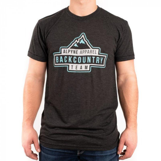 alpyne apparel team backcountry  shirts t-shirts - casual