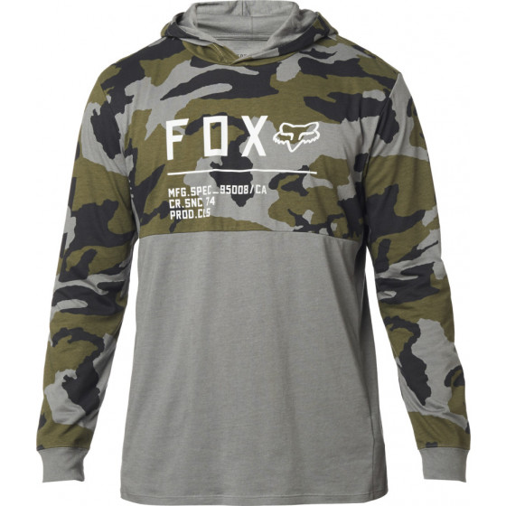 fox racing hoodies  non stop camo knit hoodies - casual