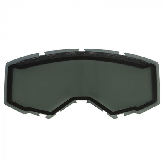 fly racing vents with replacet pro focus/zone adult lens - snowmobile