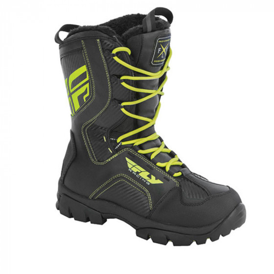fly racing marker  boots lace boots - snowmobile