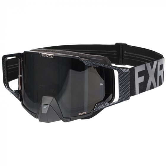 fxr racing mx le carbon pilot adult goggles - dirt bike