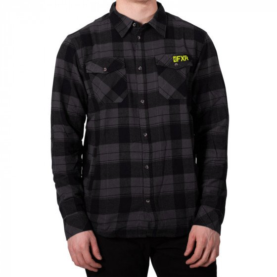 fxr racing shirts  timber plaid shirts - casual